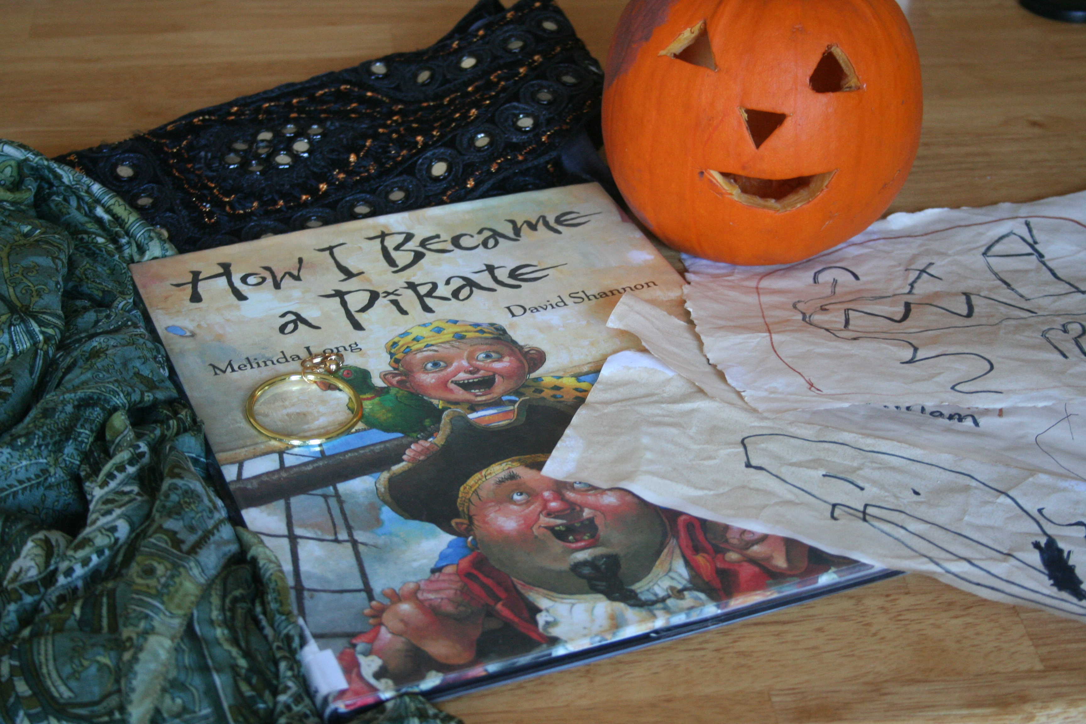 pumpkin and pirate stuff!
