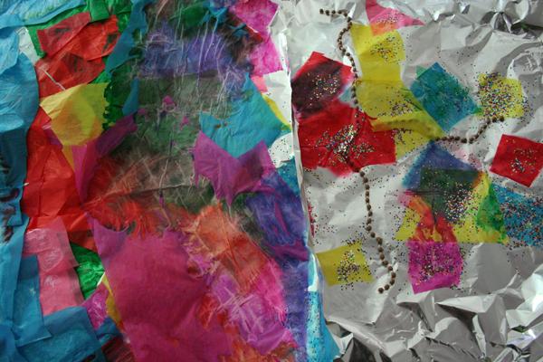 foil art
