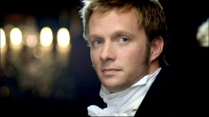 I prefer the other adaptation of Persuasion, but this Captain Wentworth is handsomer. Yes, I'm shallow that way.